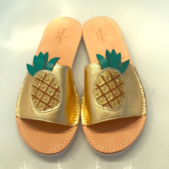 0015abc92 Kate Spade New York Ibis pineapple sandals